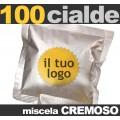 100 Cialde personalizzate Miscela CREMOSO