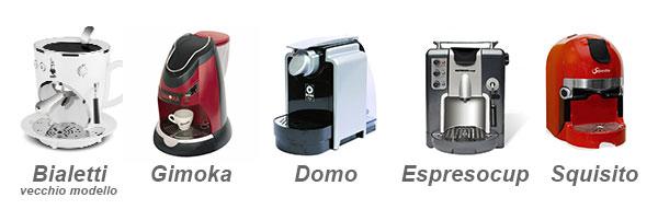 macchine da caffè compatibili 32mm