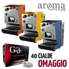 Macchina da caffè a cialde AROMA AGE + cialde omaggio