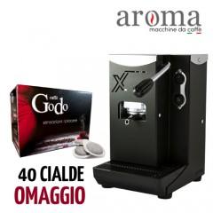 Macchina da caffè a cialde AROMA X + cialde omaggio