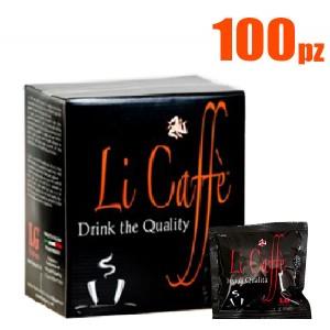 100 Cialde LICAFFE BLACK