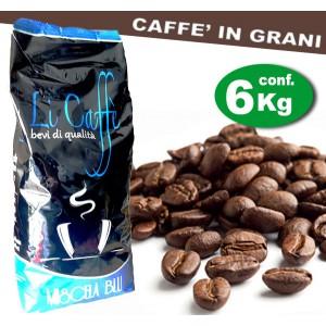 Caffè in grani LICAFFE' BLUE