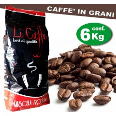 Caffè in grani LICAFFE' RED
