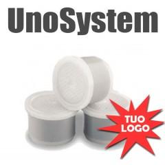 100 Capsule compatibili personalizzate UNOSYSTEM
