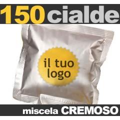 150 Cialde personalizzate Miscela CREMOSO
