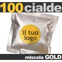 100 Cialde personalizzate Miscela GOLD