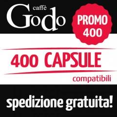 Promozione 400 capsule compatibili