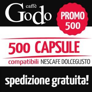 Promozione 500 capsule compatibili DOLCEGUSTO