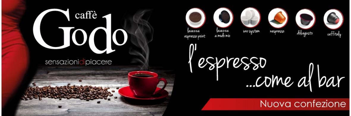 Nuova confezione caffe GODO