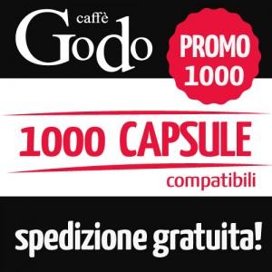 Promozione 1000 capsule compatibili