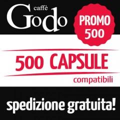 Promozione 500 capsule compatibili