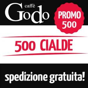 Promozione 500 cialde filtro carta 44mm